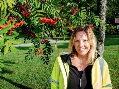 Linda Olsson.