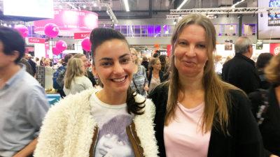 Dzemila Hadziefendic och Catrin Jansson.