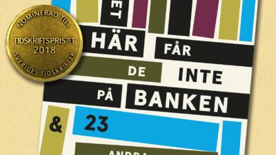 "KA:s novellbok kan belönas som ""årets grepp""."