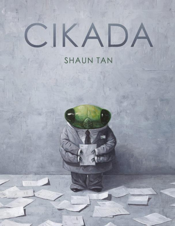 Cikada av Shaun Tan.
