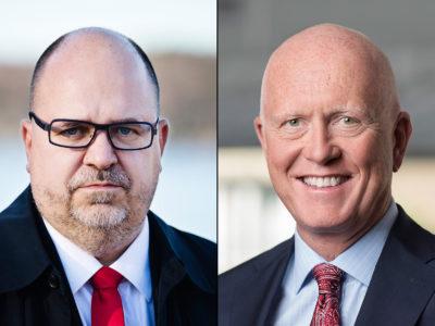 Karl-Petter Thorwaldsson och Peter Jeppsson.