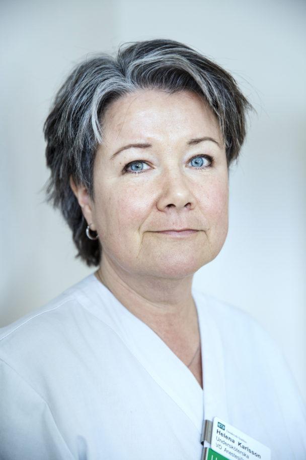"""""""Vår roll är främst att hjälpa de anhöriga att förstå vad so händer"""", säger Helena Karlsson."""