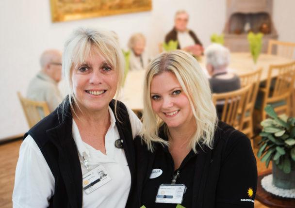 Birgitta Sohlberg och Pernilla Aronsson.