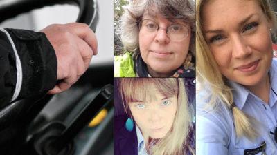 Perihan Aydin, Sara Westberg och Lovisa Svedberg.