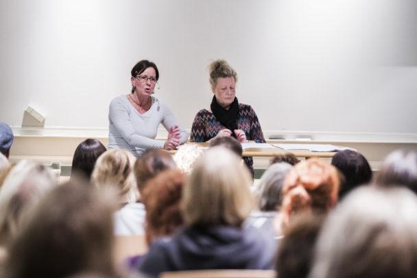 Maria Melin och och Åsa Blid.