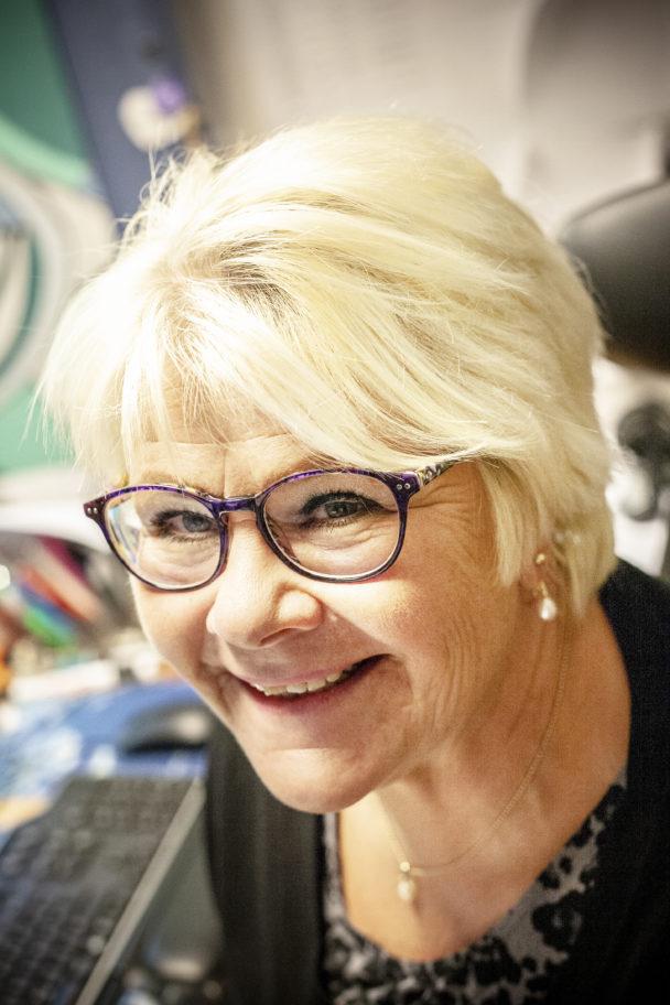 Gertrud Björkegren.