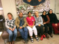Jill Åkerman, Ghasem Bayati, Kulwinder Gill, Mubera Alihodzic, Rachida Zachrisson och Fatma Kokulu protesterar mot att nattpassen ska kortas ytterligare.