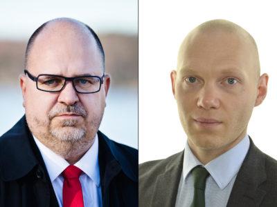 Karl-Petter Thorwaldsson och Niklas Wykman.