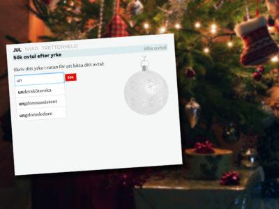 Vad får du för ob i jul?