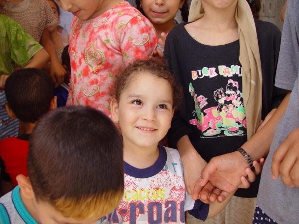 Sirin El Masri, ett av barnen som Mats Grorud mötte på förskolan i det palestinska flyktinglägret i Libanon.