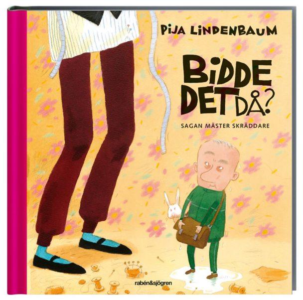 """""""Bidde det då?"""" av Pija Lindenbaum."""