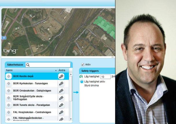 Karl Orton, Keolis, och systemet för hastighetsövervakning.