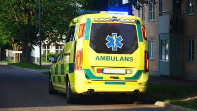 Ambulans (genrebild).