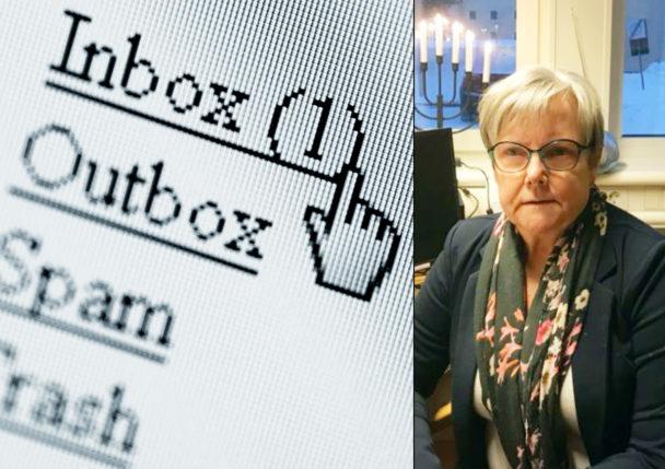 Gudrun Dickman.