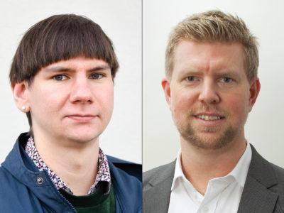 Felix Finnveden och Henrik Petrén.