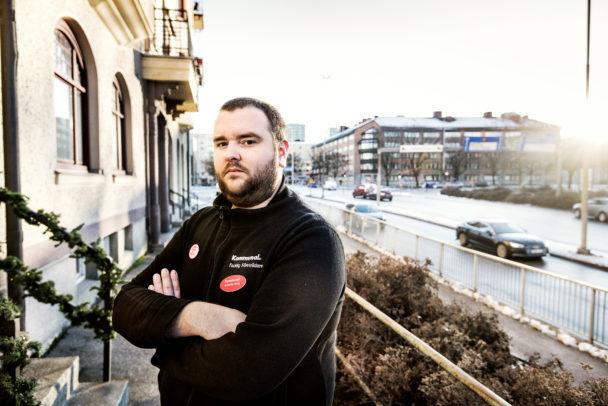 Kristoffer König, Kommunal i Örebro.