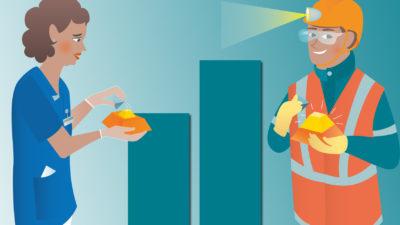 Undersköterskan får ut mycket mindre i pension än gruvarbetaren.