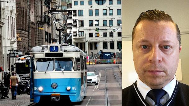 Pablo Cozzi, spårvagnsförare och skyddsombud.