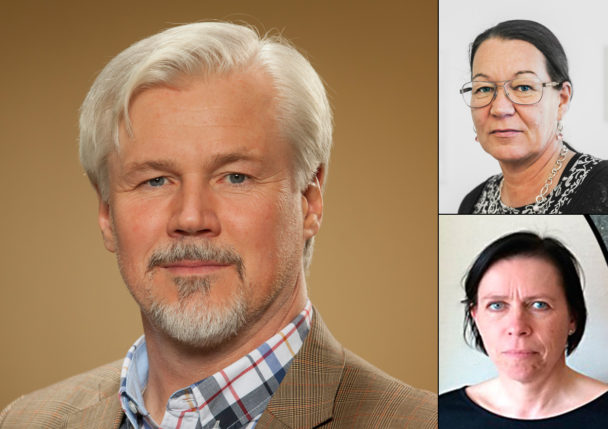 Torbjörn Johansson, Lenita Granlund och Camilla Ingman.