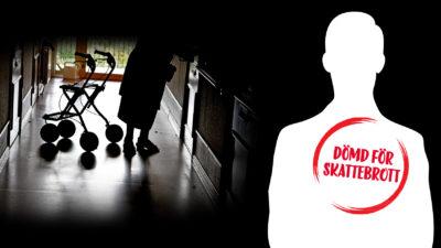 Hemtjänstföretagaren är dömd för skattebrott.