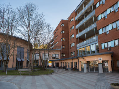 Södra Älvsborgs sjukhus i Borås.