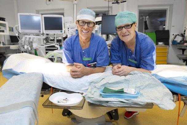 Maria Hansson och Eva Hellström.