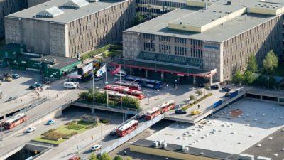 Karolinska universitetssjukhuset i Huddinge.