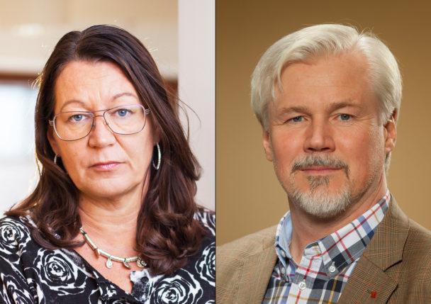 Lenita Granlund och Torbjörn Johansson.