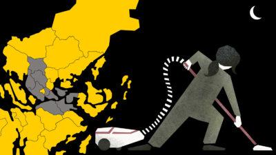Sju kommuner i Stockholmsområdet har eller har haft avtal med Enklare vardag.