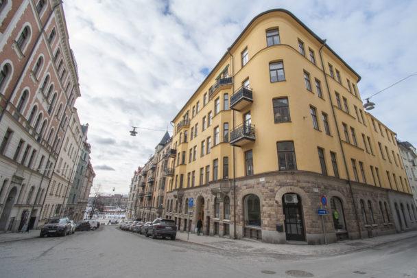 Enklare Vardags huvudkontor på Östermalm i Stockholm.