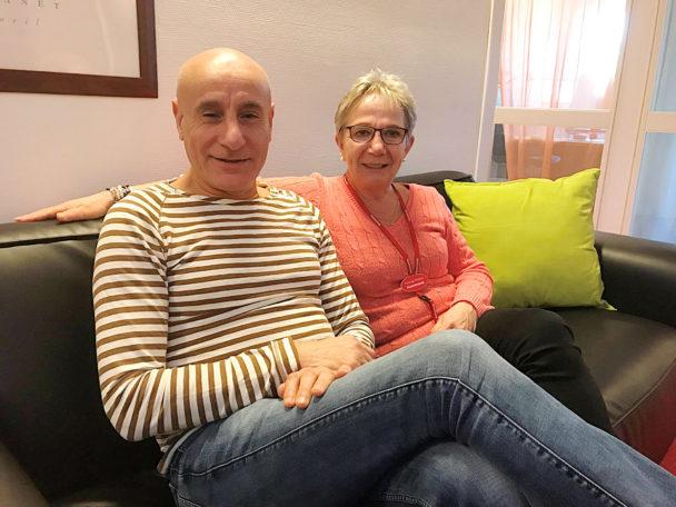 Abbes Remache och Annika Löfstedt hjälpte en medlem att få 275000 kronor.