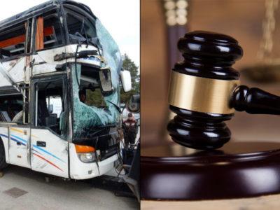 Den kraschade bussen.
