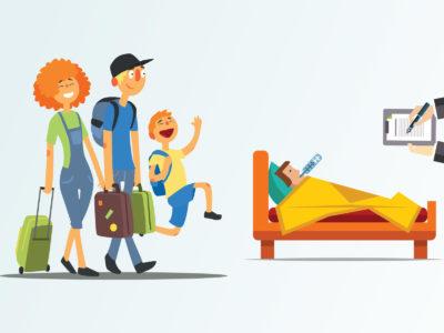Är du tillfälligt anställd behöver du ha koll på vad som gäller vid semester och sjukdom.
