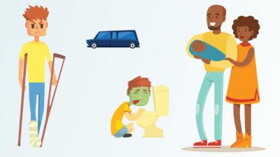 Är du tillfälligt anställd behöver du ha koll på vilka försäkringar som gäller dig.