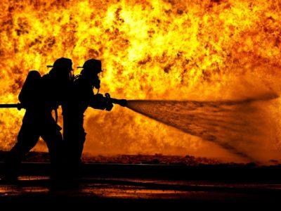 Brandmän (genrebild).
