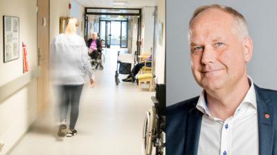 Jonas Sjöstedt (V).