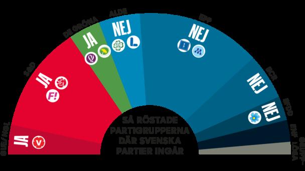 Socialt protokoll – så röstade partierna.