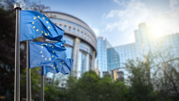 EU-parlamentet i Bryssel.