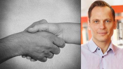 Johan Ingelskog, värvningschef på Kommunal.