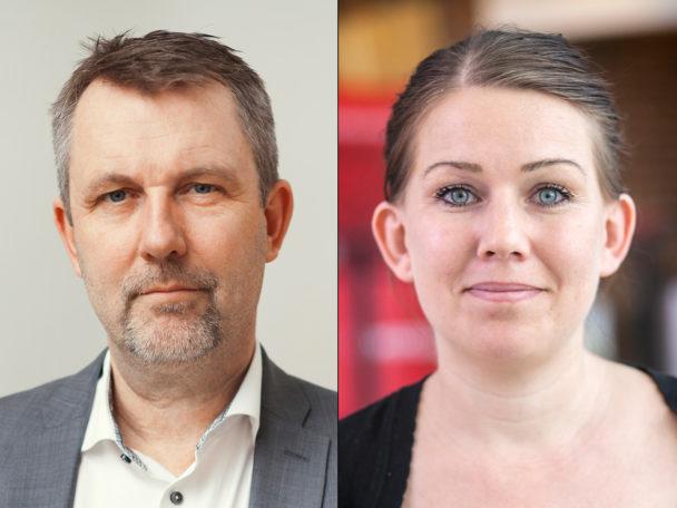 Per Holmström och Lisa Bengtsson.