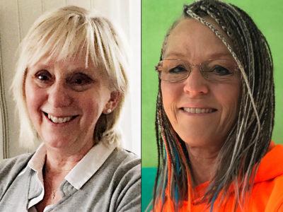 Diana Hall och Katrin Nörthen, förskollärare.