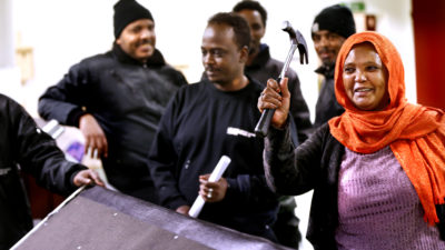 Mahs Yakub och Amina Ibrahim.