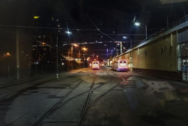 Spårvagnar i Göteborg.