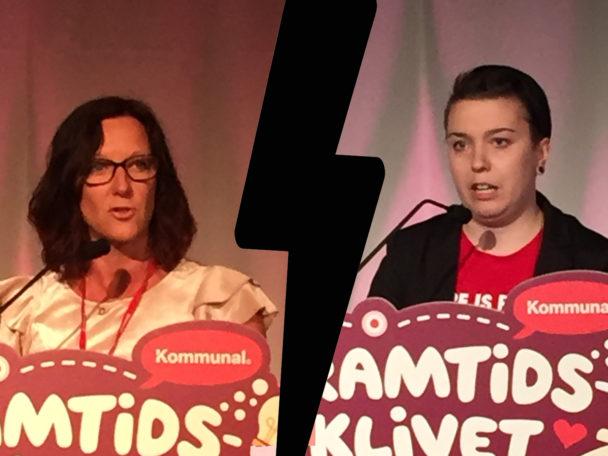 Johanna Svensson och Sanna Tefke.