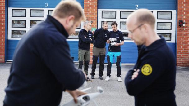 David Lindsmyr, Lars-Göran Bengtsson, Joakim Östling, Jonas Robertsson och Dennis Swed.