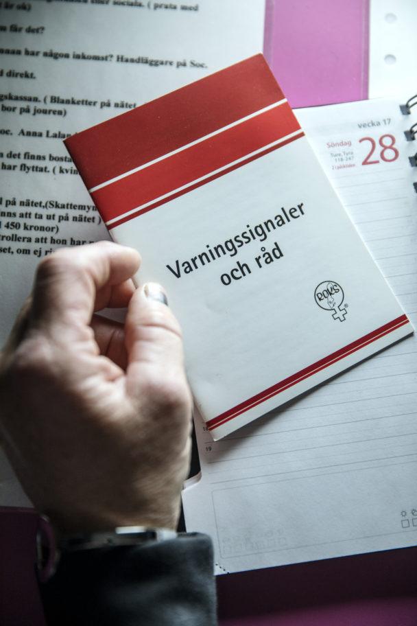 Varningssignaler och råd från Roks.