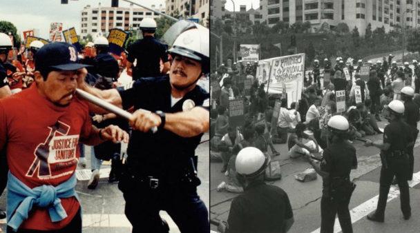 Startskottet för Internationella rättvisedagen för städare var en demonstration i Los Angeles år 1990.