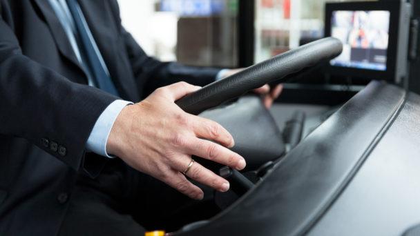 Bussförare.