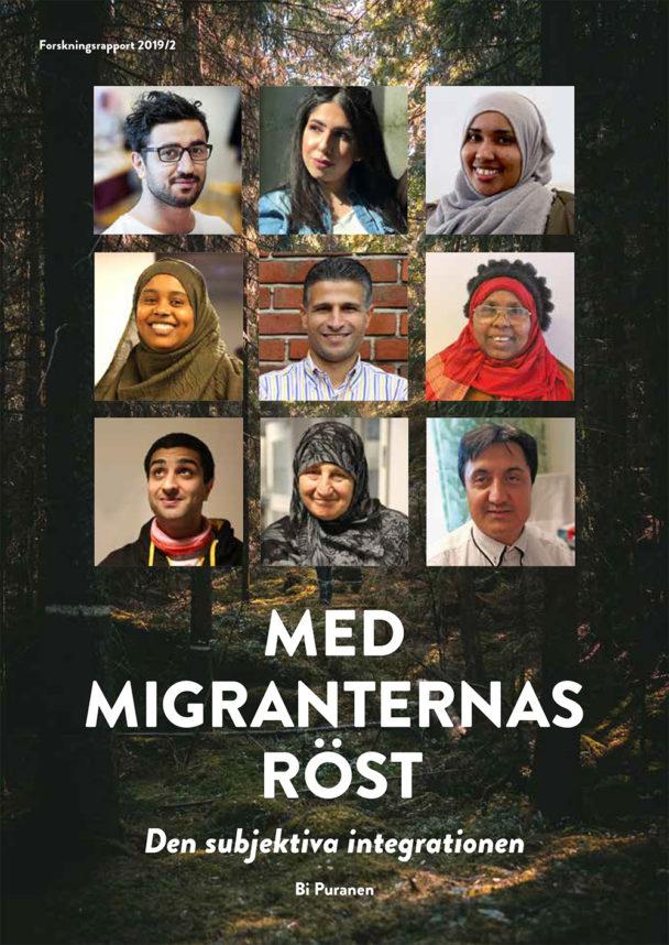"""Rapporten """"Med migranternas röst""""."""