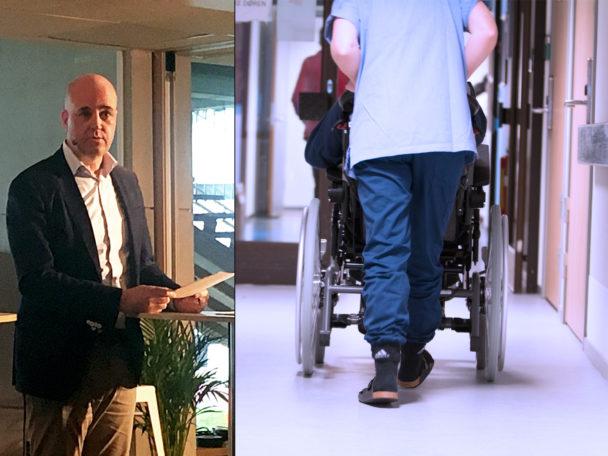 Fredrik Reinfeldt i Almedalen.